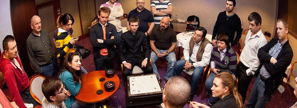 семинар по игре Го в Сколково