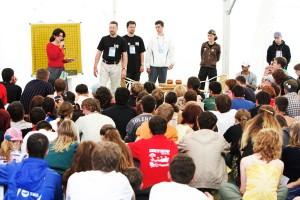 мастер-класс Го в лагере Селигер