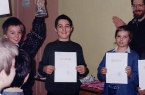 детский чемпионат Москвы по игре Го