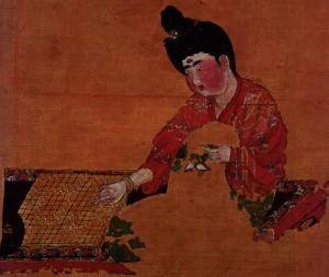 Древнейшее изображение игры Го