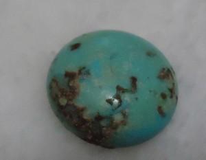 камень Го из бирюзового стекла
