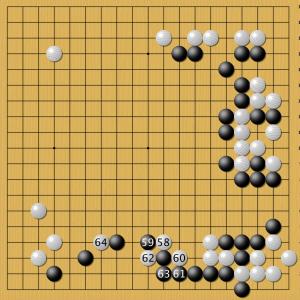Блестящая комбинация решений AlphaGo за белых удивила многих экспертов. Постановки 58-64 человек сделает на интуиции. Просчитать их практически невозможно.
