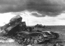 Танки на подступах к Сталинграду
