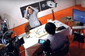 Фан Хуэй играет c AlphaGo
