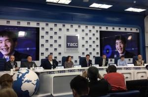пресс-конференция в ТАСС по итогам матча