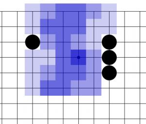 От трех камней расширяйся через 4 перекрестка