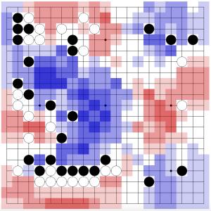 игра 3. AlphaGo (черные), аноним (белые)