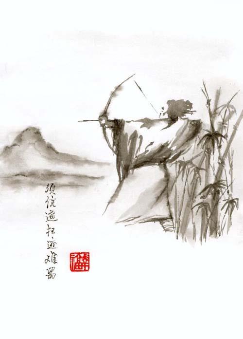китайский лучник