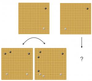 варианты фусэки по версии Alphago