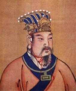 Основатель династии Чжоу (11 век до н.э.) У-ван