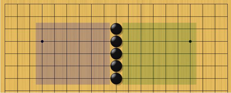 Стенка - мастерское решение в стиле стратегии Го