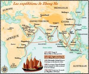 Минский Китай был великой морской державой, обладая крупнейшим флотом своего времени.