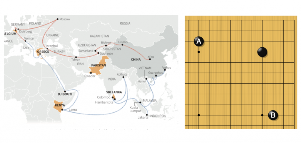 Стратегическая альтернатива Китая: сухопутный Шелковый путь и морская Жемчужная нить гарантирует роль глобального игрока и устойчивость развития